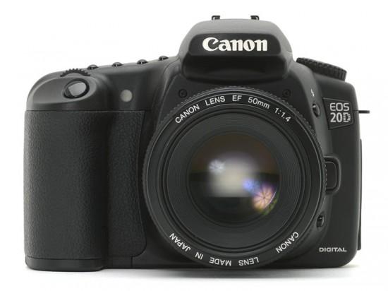 Slika   Prodam Canon 20D z vso opremo (canon eos 20d 550x412)